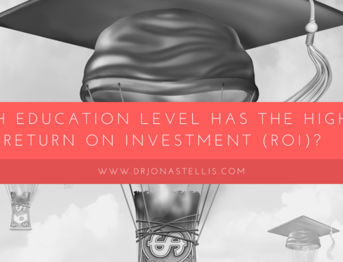 Which Education Level Has the Highest Return on Investment (Roi)?